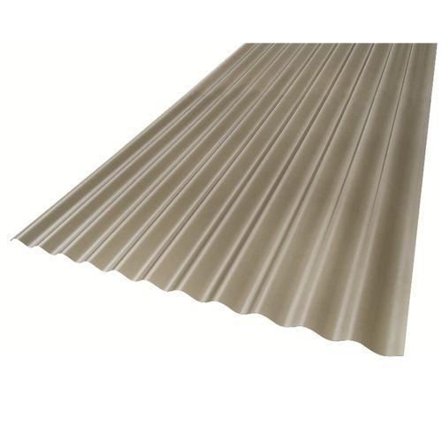 Suntuf 860 x 17mm x 6m Grey Solarsmart Polycarbonate Corrugated Roofing