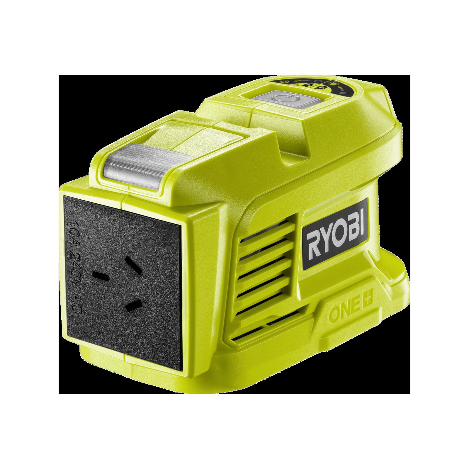 Ryobi 18V ONE+ 150W Battery Topper Inverter - Skin Only