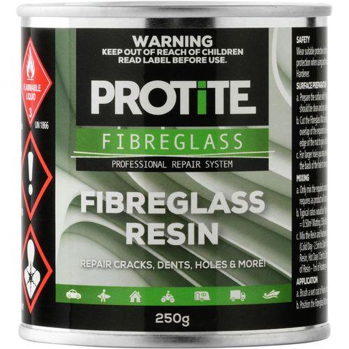 Protite 250g Fibreglass Resin