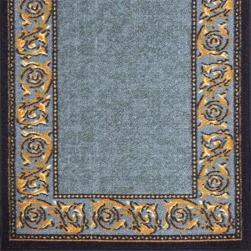 Ideal DIY 67 x 294cm Gold Leaf Grey Loop Pile Carpet Runner
