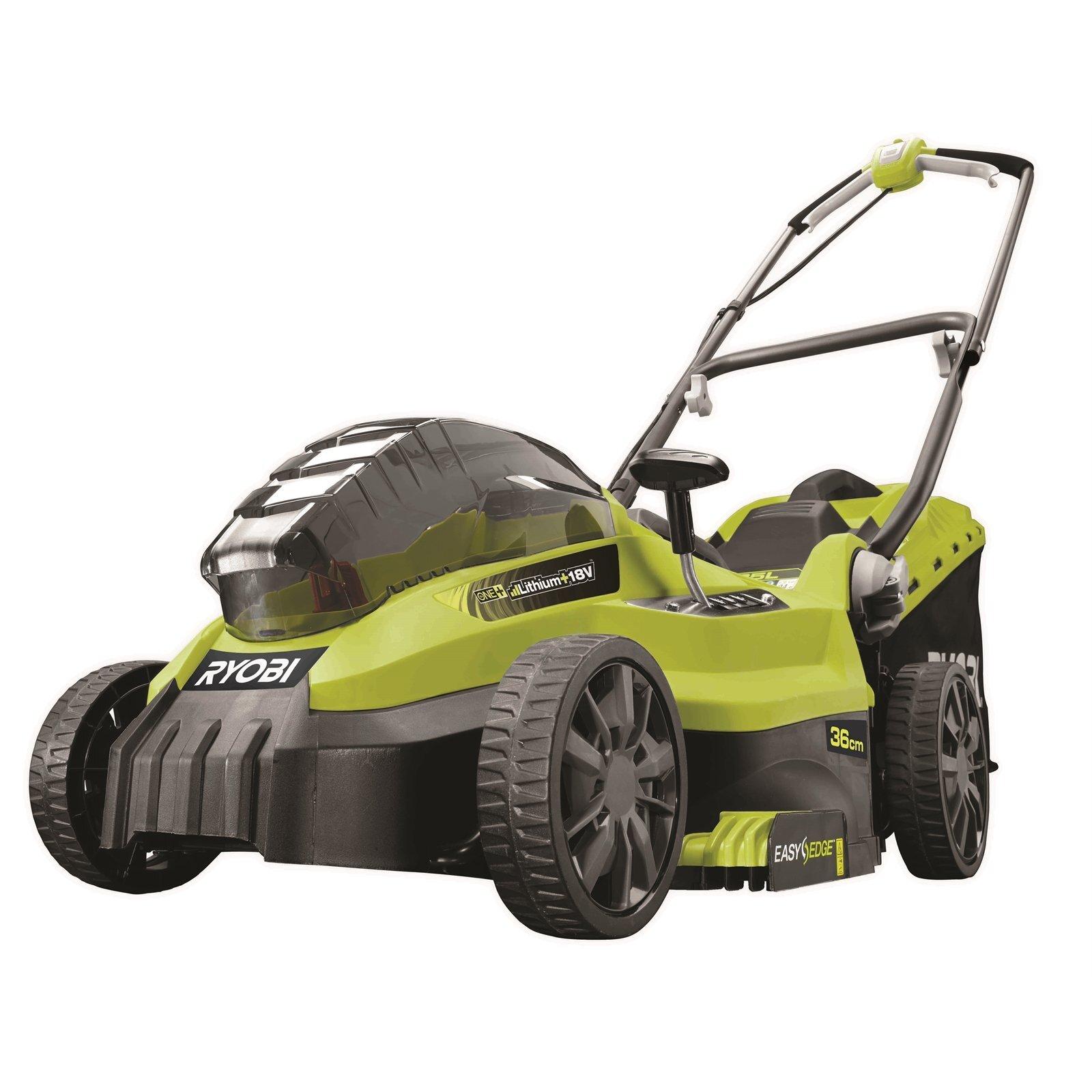 Ryobi One+ 18V 4.0Ah 36cm Lawn Mower Kit