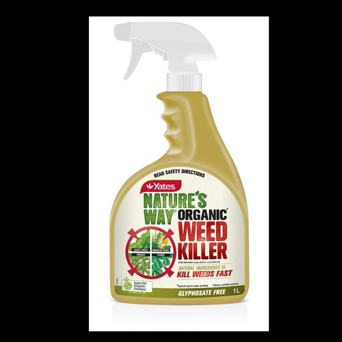 Yates 1L Ready To Use Nature's Way Organic Weed Killer Spray