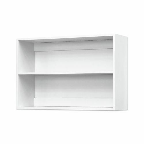 Bedford 900mm White High Moisture Resistant Open Wall Cabinet