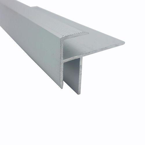 Roberts 8mm x 3.3m Silver Stair Nosing Trim