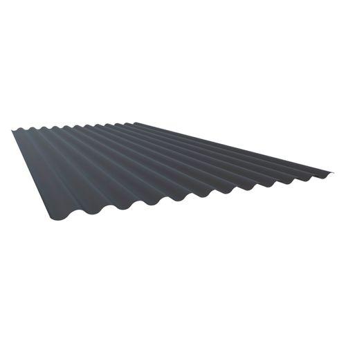 Armorsteel 845 x 2400mm Grey Friars 0.4 Corrugated Roofing Steel