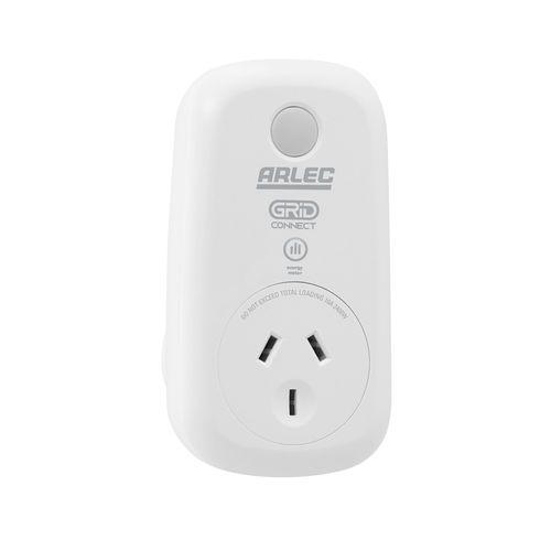 Arlec Grid Connect Smart Plug In Socket With Energy Meter