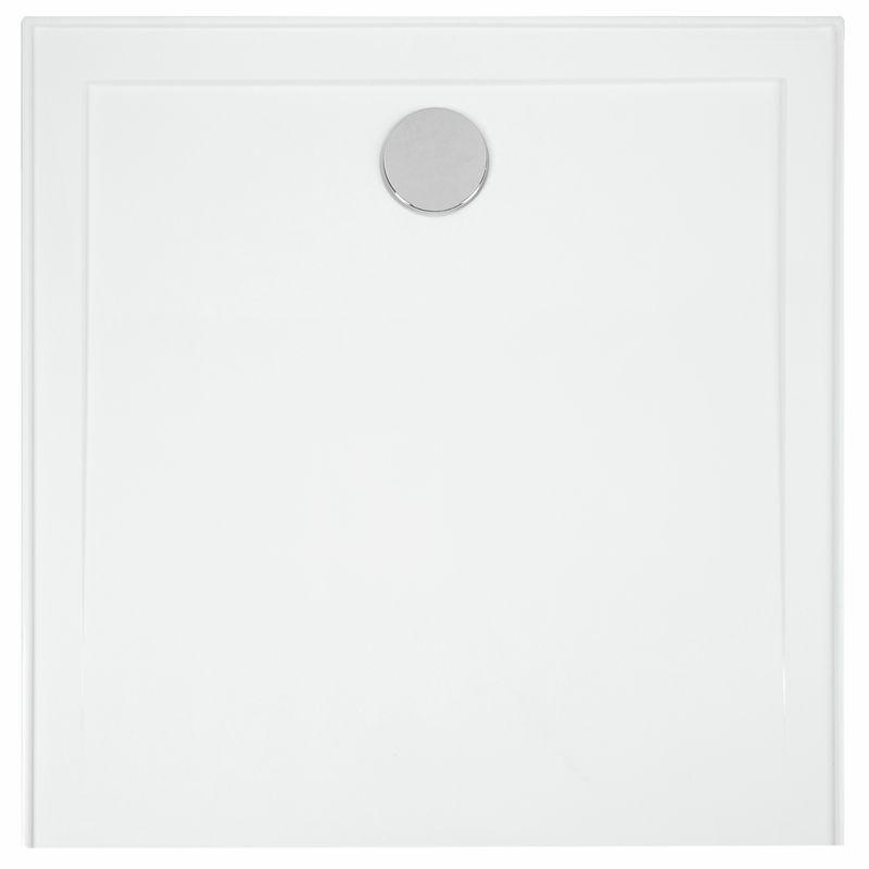 Resonance 900 x 900mm White Shower Base