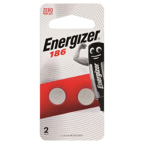 Energizer 186 Alkaline Button Battery - 2 Pack