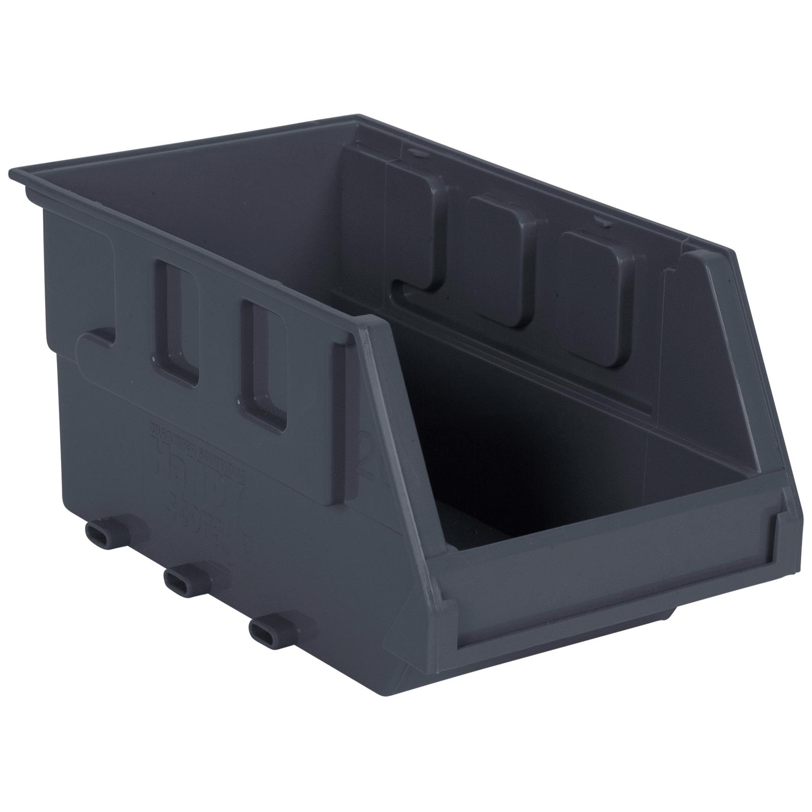 Handy Storage Size 20 Grey Plastic Storage Tote