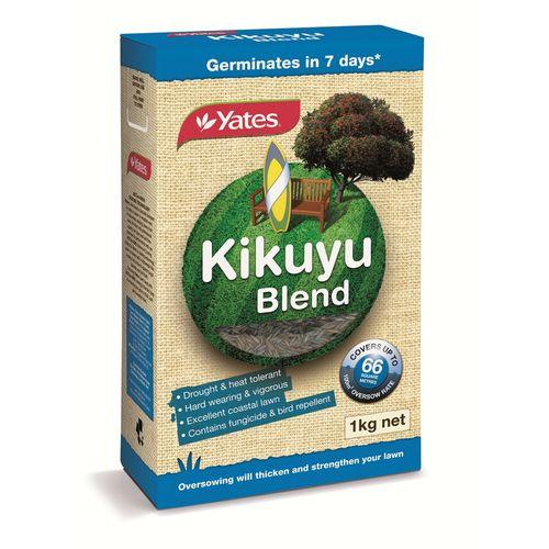 Yates 1kg Kikuyu Blend Lawn Seed