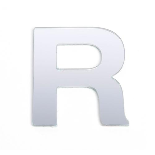 Sandleford 25mm R Silver Self Adhesive Letter