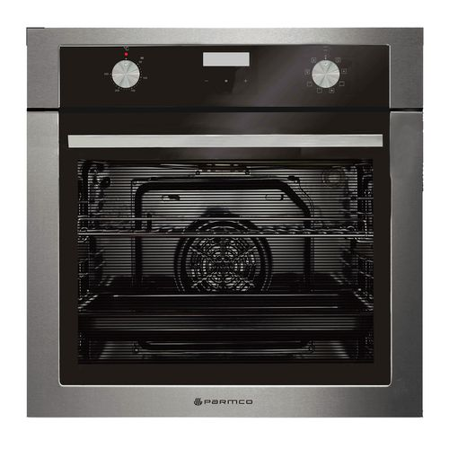 Parmco 600mm 76L Black 8 Function Electric Oven