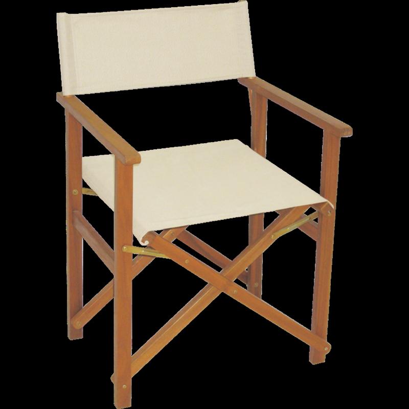 Natural Timber Directors Chair