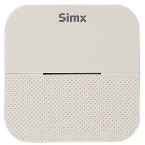 Simx White Sunset Plug-in Chime Set