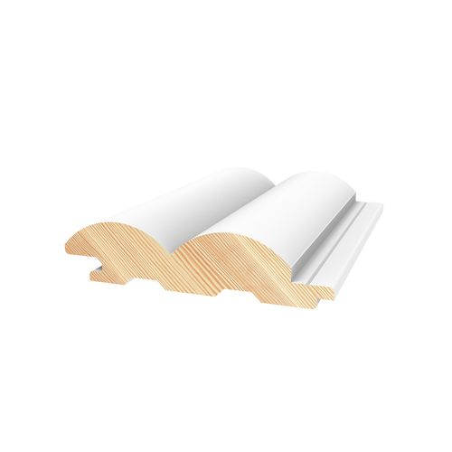 Porta 78 x 21mm 2.7m Contours Primed Riverine Pine Lining Board