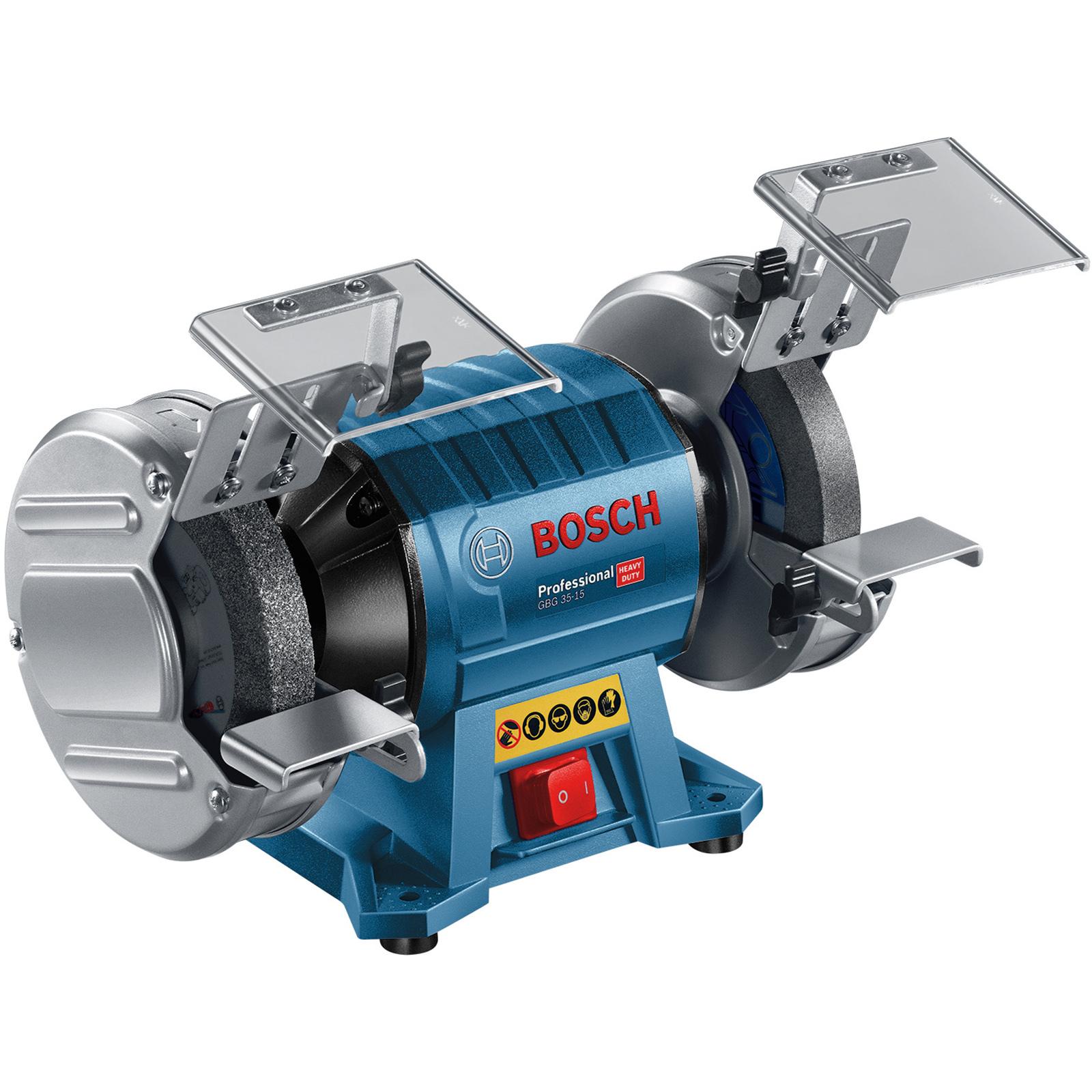 Bosch Blue 350W Double Wheel Bench Grinder