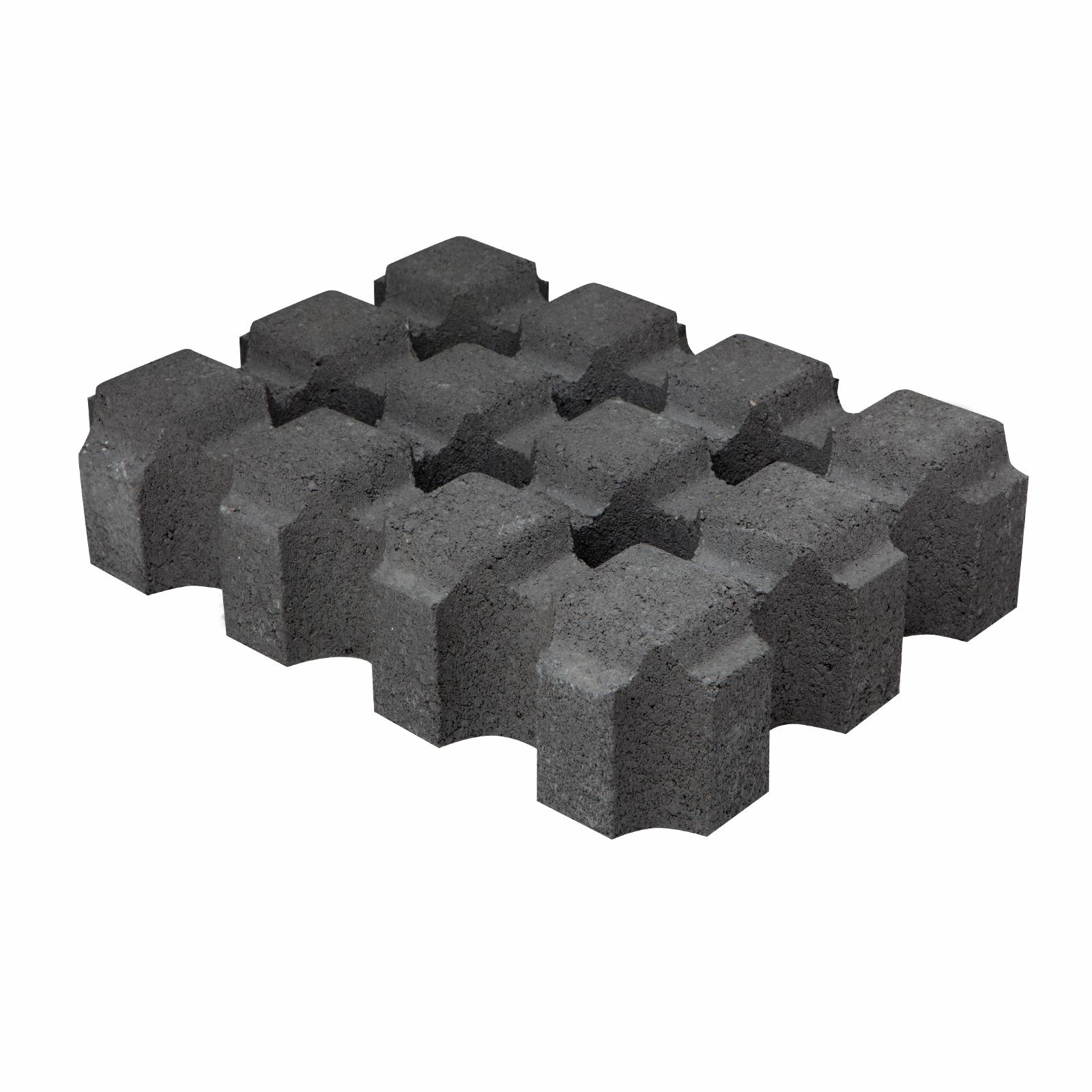 Adbri Masonry 420 x 315 x 95mm Charcoal Turfgrid Paver