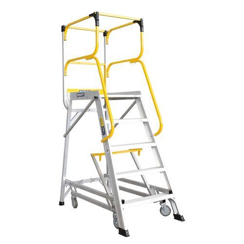 Bailey 1381mm 200kg Access 5 Aluminium Ladderweld Platform Ladder