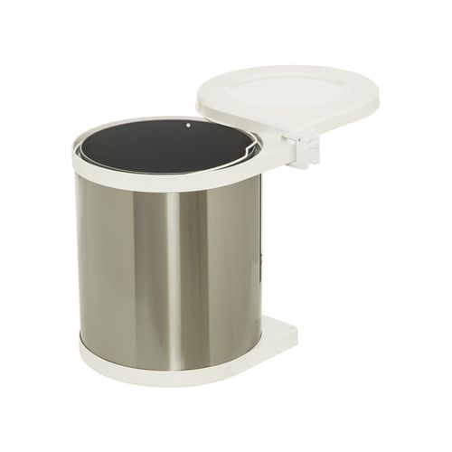 Kaboodle 15L Swing Out Chrome Waste Bin