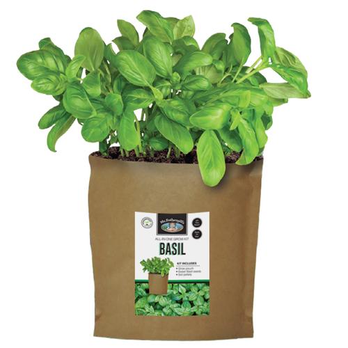Mr Fothergill's Basil Grow Pouch Bag