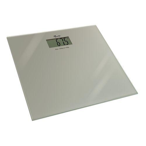 Propert Silver Glass Digital Bath Scales