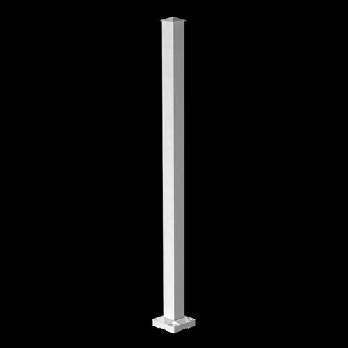 Peak 1000mm Aluminium Balustrade Stair Post