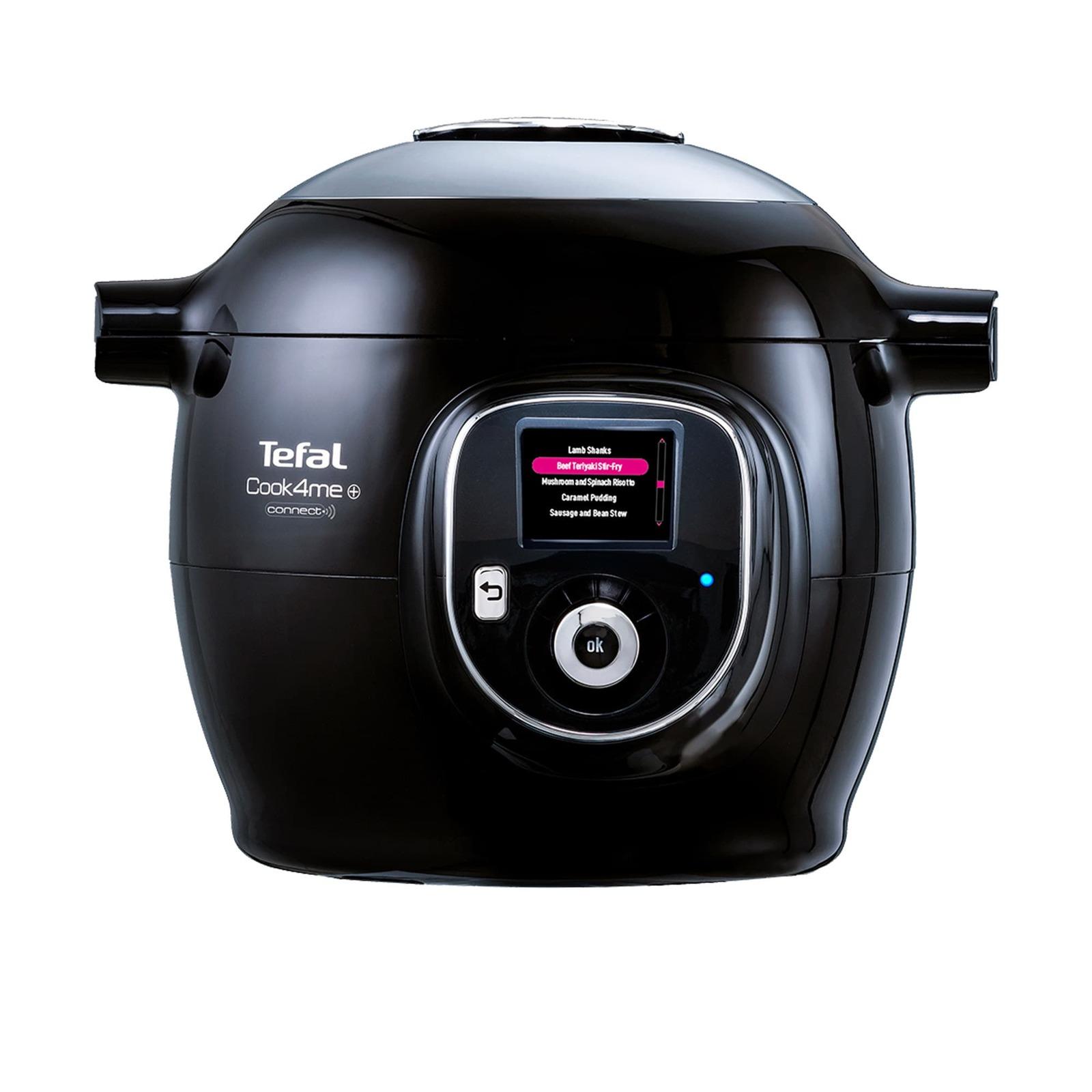 Tefal Cook4Me + Connect Multi Cooker Black
