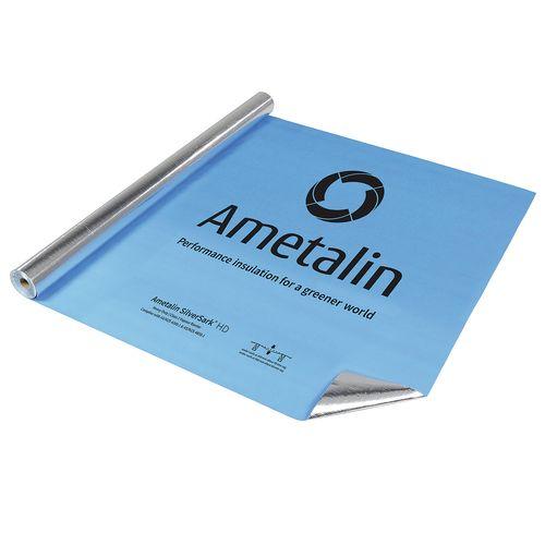 Ametalin 1350mm x 60m SilverSark HD Reflective Roof and Wall Insulation