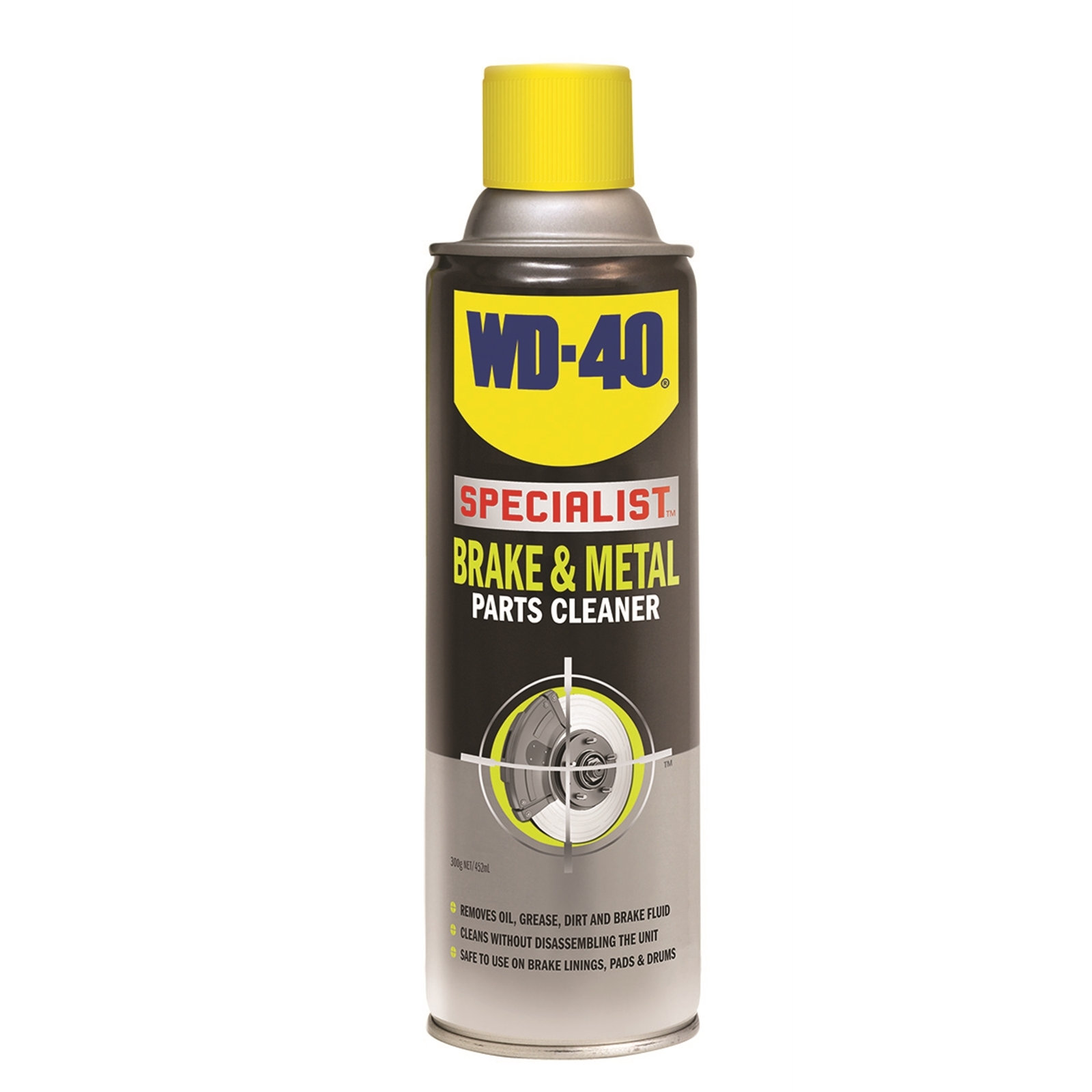 WD-40 Specialist Brake & Metal Parts Cleaner 400g Clear