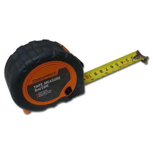 Craftright 8m Tape Measure