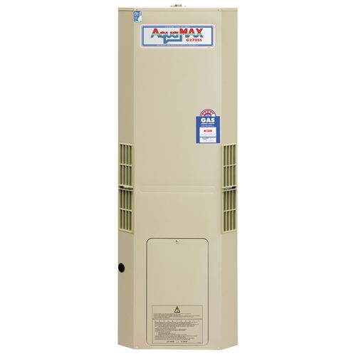 AquaMAX 130L Natural Gas Stainless Steel Water Heater