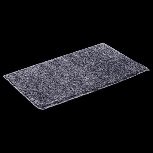 Softouch 75 x 45cm Grey Microfibre Bathmat