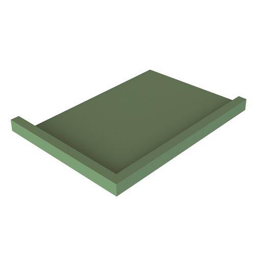 Stein 1200 x 900mm LH Channel Drain QuickTile Tray