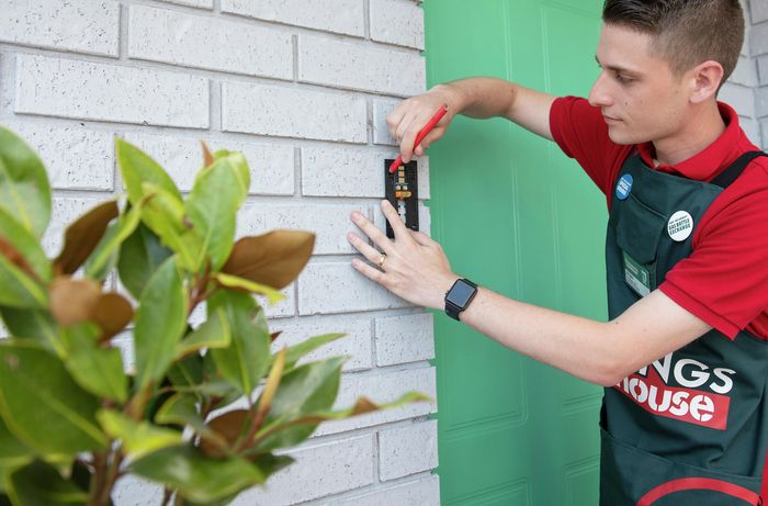DIY Step Image - How to install a ring doorbell. Blob storage upload.