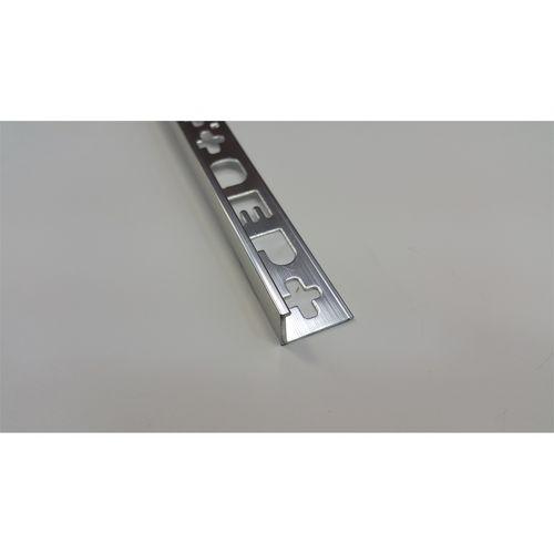 QEP L Angle Trim 12mm x2.5m Bright Silver