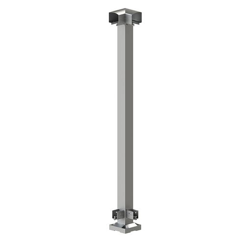 Peak Products 1000mm Silver Aluminium Balustrade Corner Post