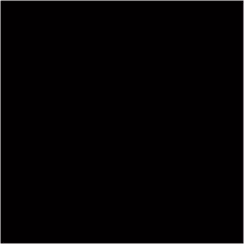 Johnson 97 x 97mm Black Gloss Spectrum Wall Tile