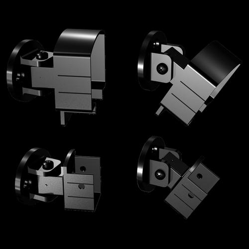 Peak Products Black Aluminium Balustrade Universal Bracket