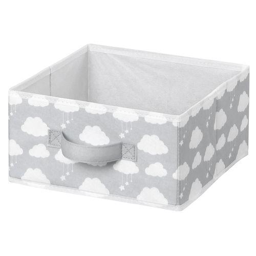 Flexi Storage Kids 27 x 14 x 27cm Grey Clouds Fabric Insert