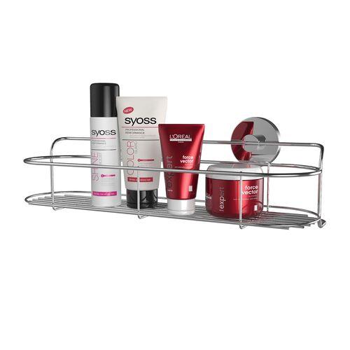 Fusion-Loc 16kg Stainless Steel Suction Bathroom Shelf Vogue