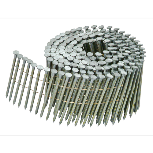 Bostitch 15 Degree 45 x 2.5mm Wire Collated Nails In Ring Shank Box - 5940 Pack