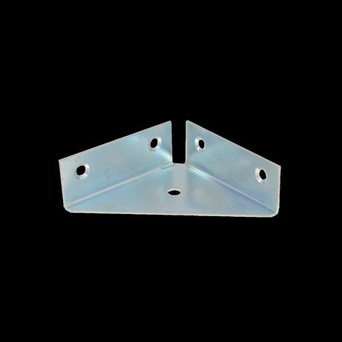 Carinya 63 x 63 x 1mm Zinc Plated Tri Corner Reinforcing Bracket