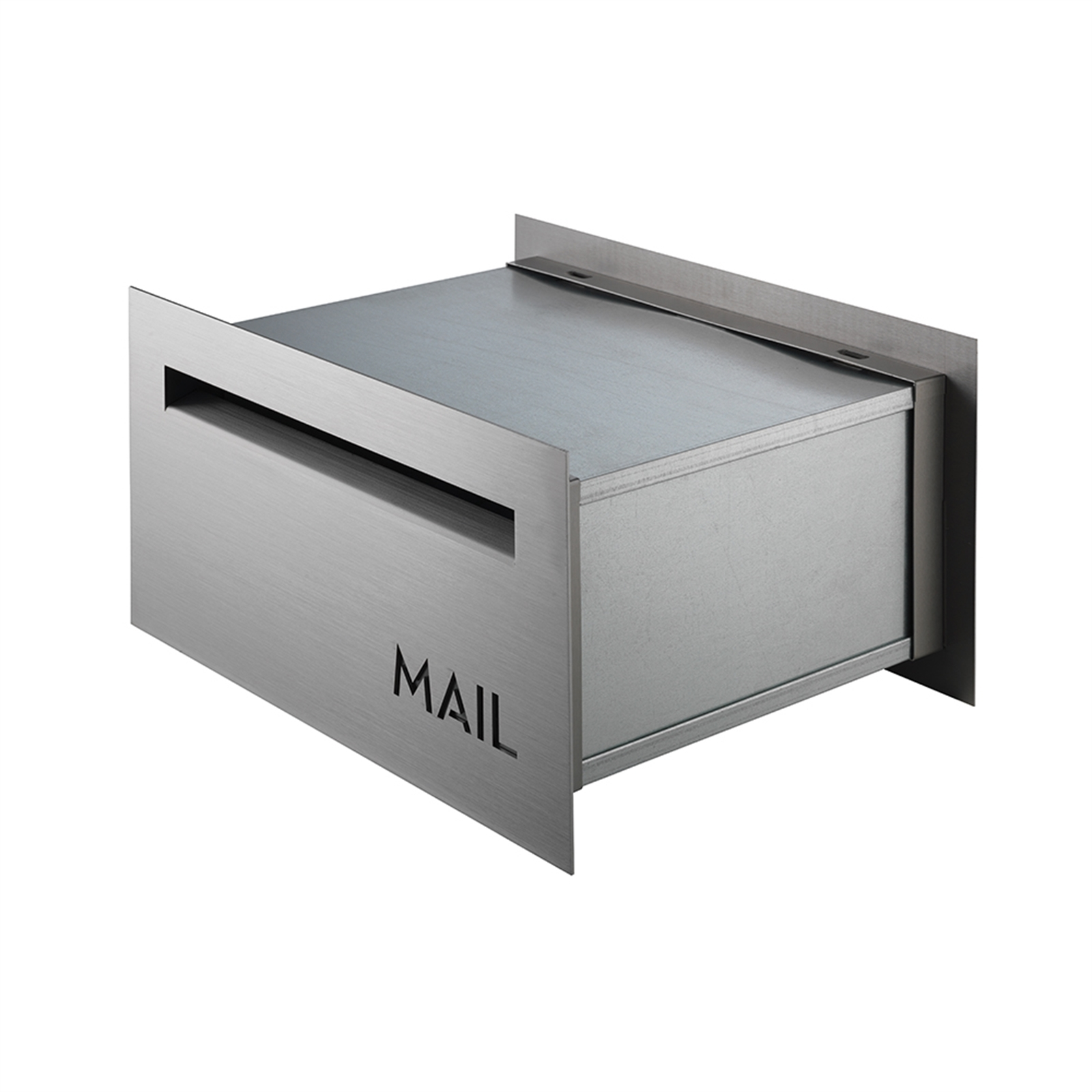 Sandleford Stainless Steel Front And Back Letterbox