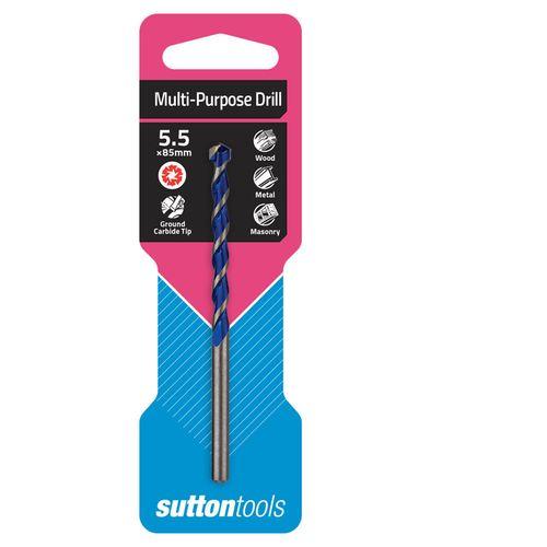 Sutton Tools 5.5 x 85mm Multi Purpose Drill Bit
