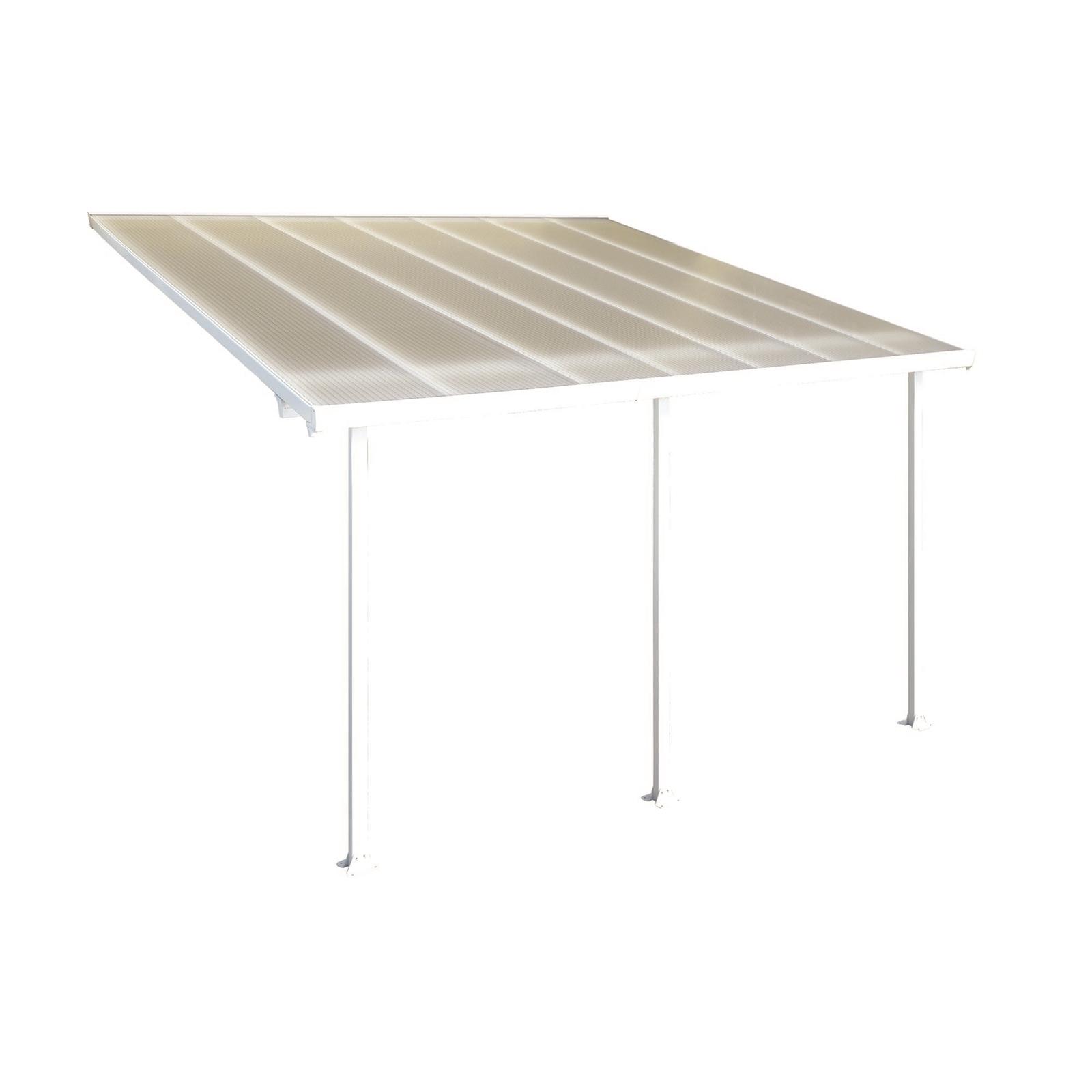 Palram 3 x 3 x 4.25m DIY White/Clear DIY Pergola Kit
