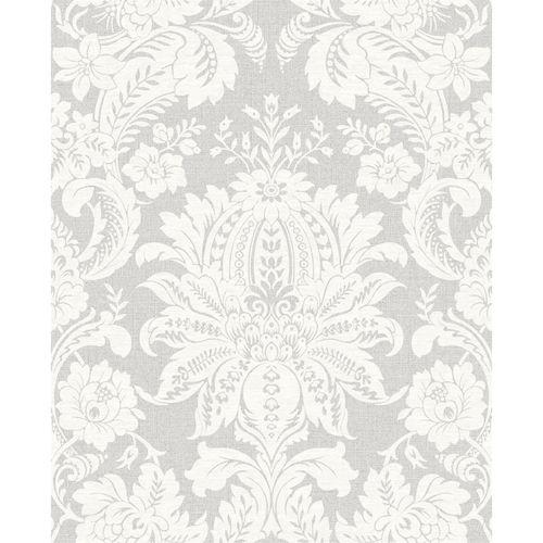 Superfresco Easy 52cm x 10m Grey Venetian Damask Wallpaper