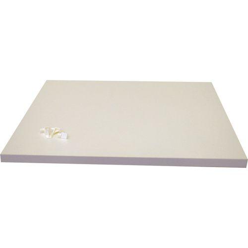 Bedford White Wardrobe Shelf - Suits 900mm Robe
