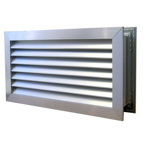 Haron 635 x 185mm Aluminium Door Relief Vent