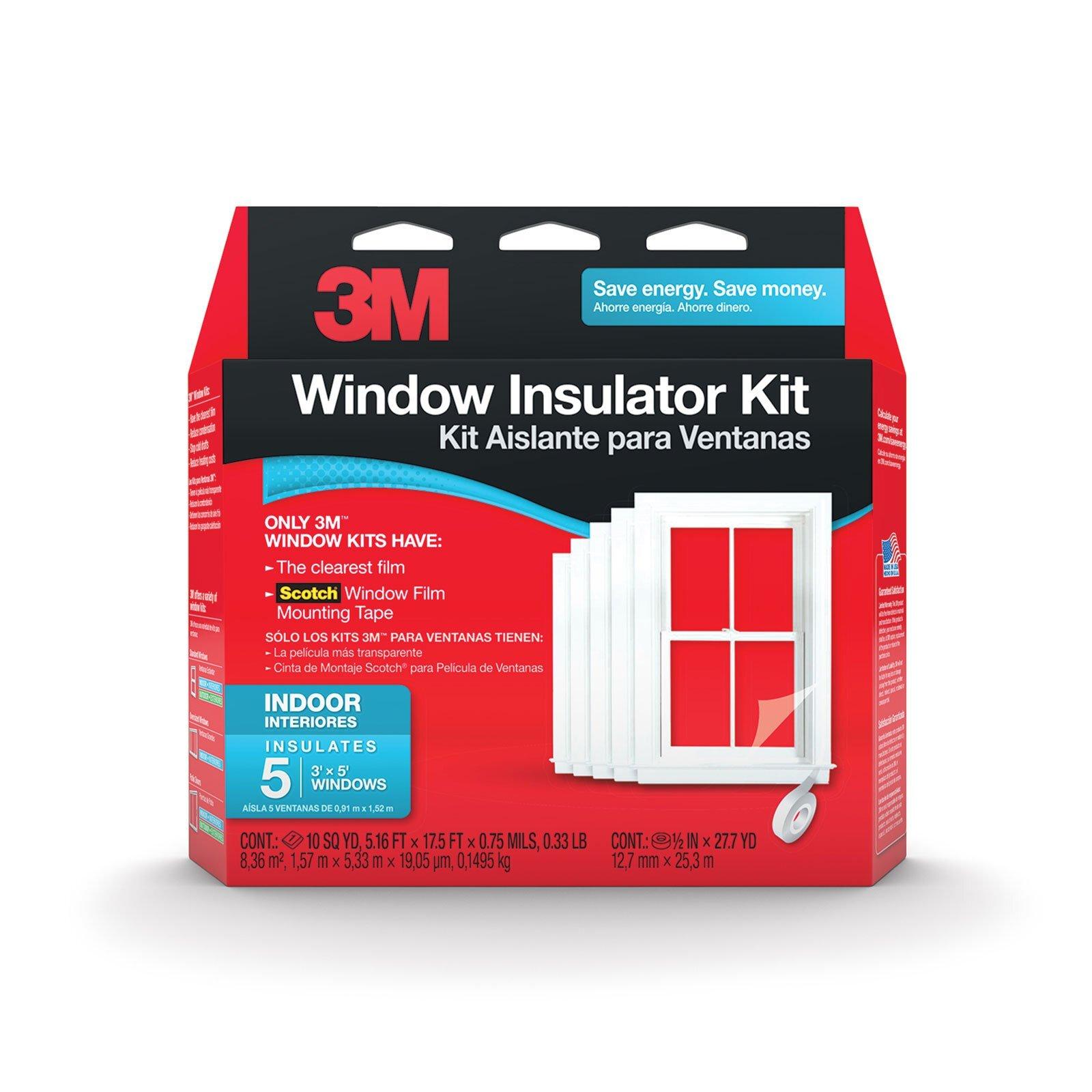 3M Window Insulator Kit - 5 Windows