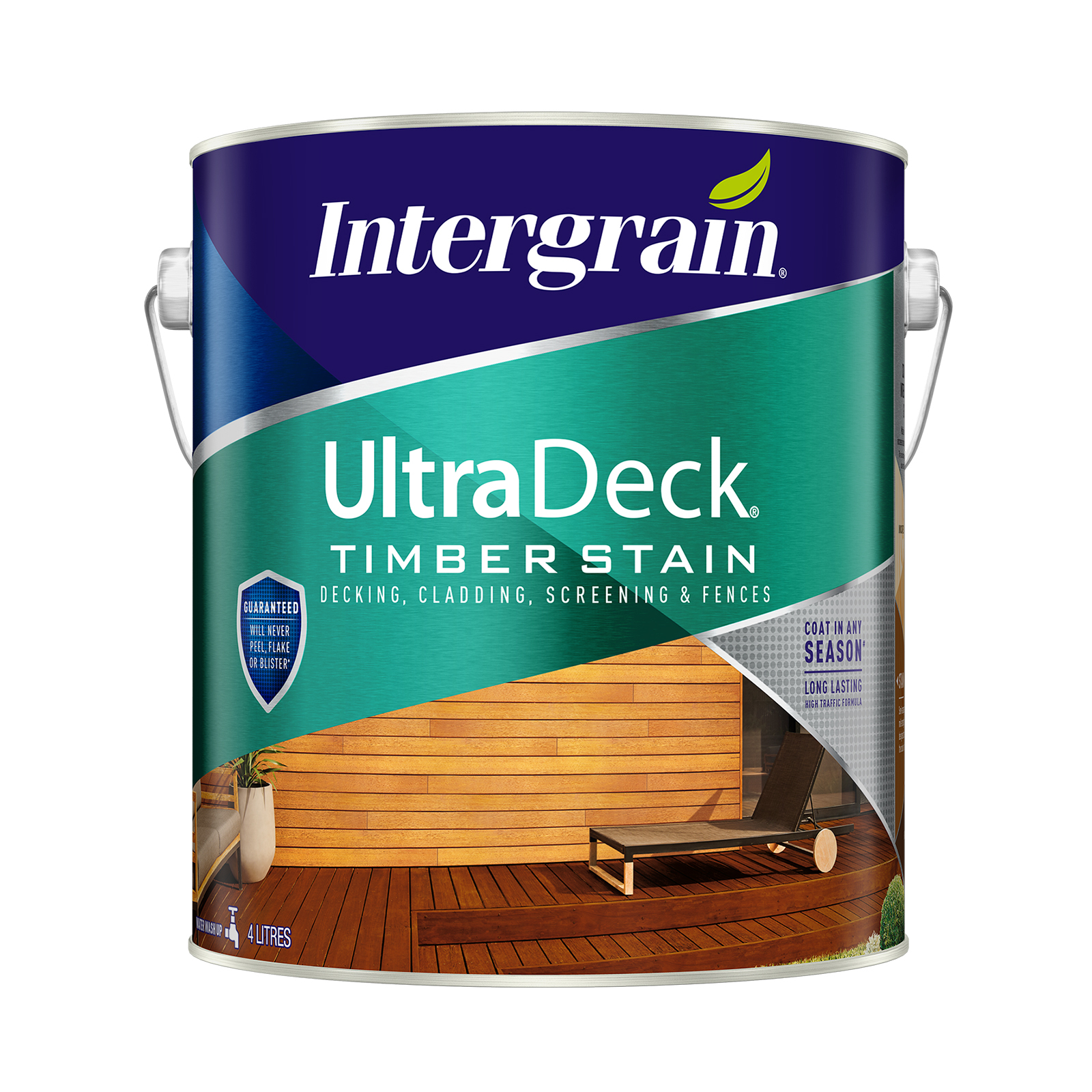 Intergrain 4L Merbau UltraDeck Timber Decking Stain